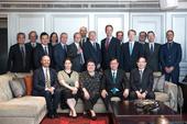 歐盟會員國駐台代表與鄭市長王副市長合照