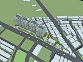 蘆竹二號社會住宅-鳥瞰模擬圖