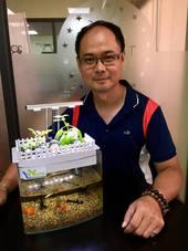 魚菜共用系統-胡坤偉先生