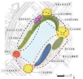 圖:大園區橫山書法藝術公園空間規劃圖