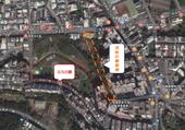 圖:楊梅區公九公園旁道路計畫範圍圖