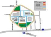 中職總冠軍賽桃市府周邊交通管制圖