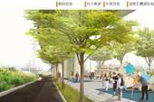 圖:機場捷運A9a至A11站橋下道路及人行空間改善工程模擬圖【另開新視窗】