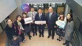日本貿易振興機構及日本台灣交流協會參訪安東青創基地