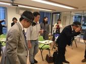 日本貿易振興機構體驗微軟MR設備