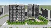 八德三號社會住宅模擬圖