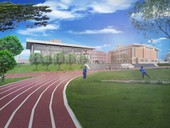 圖:棒球宿舍外觀模擬圖