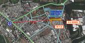 圖:計畫改善道路範圍圖