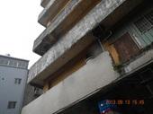 圖一、老舊建物陽臺結構剝落照片【另開新視窗】
