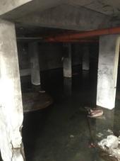 圖2、地下室長期積水損及結構,宜進行結構評估【另開新視窗】