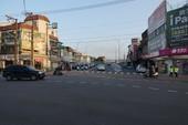 圖:楊梅區校前路開瓶前後