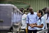 海地總統聽取農機介紹【另開新視窗】