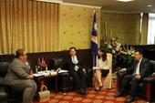 卡蒂爾副館長與鄭文燦市長進行意見交流【另開新視窗】