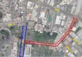 圖:延壽街97巷延伸至益壽八街道路開闢工程範圍圖 【另開新視窗】