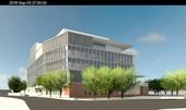 圖:外觀模擬圖(北側廣場可做為民眾活動使用)【另開新視窗】