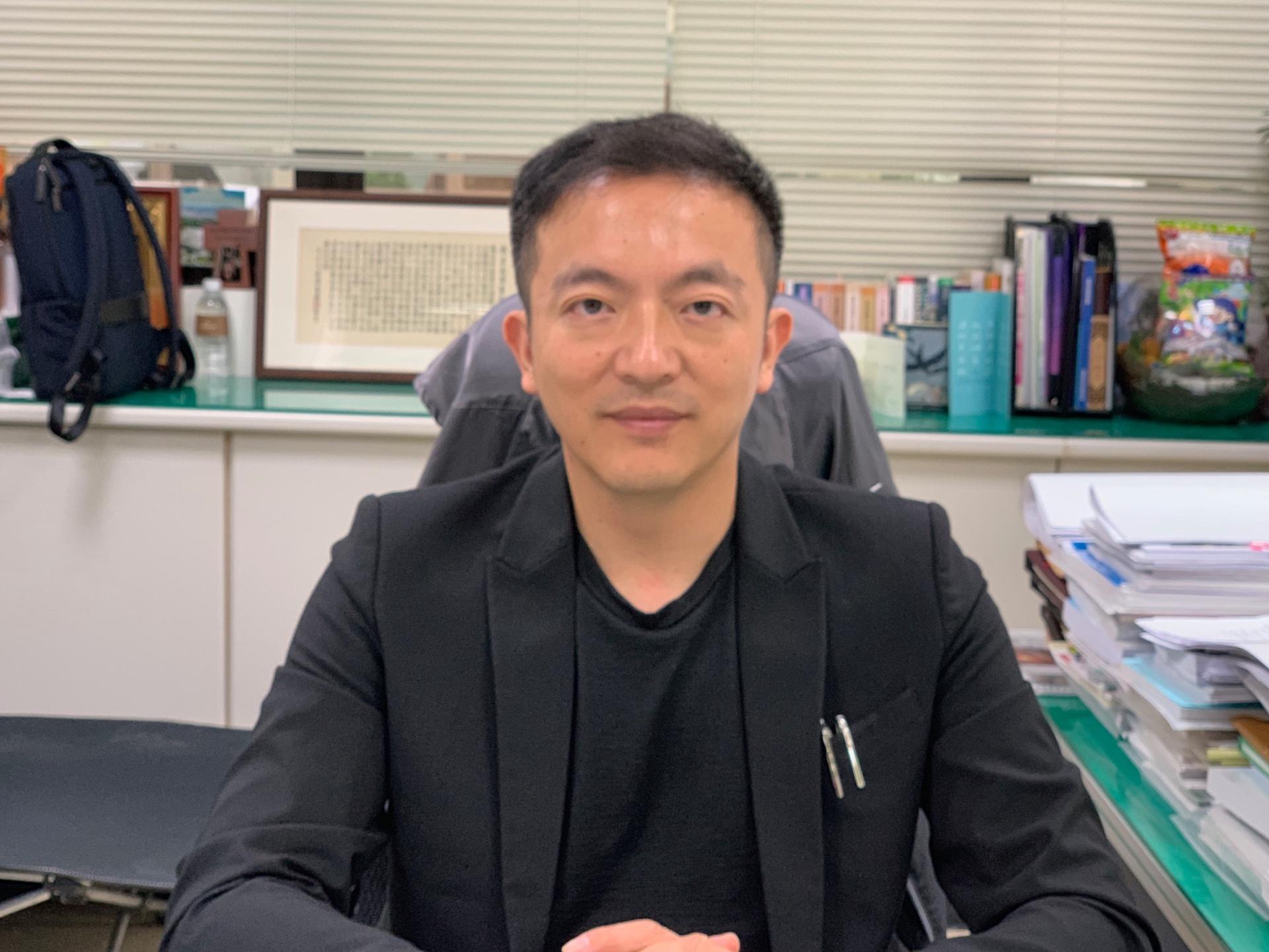 副局長王旭斌