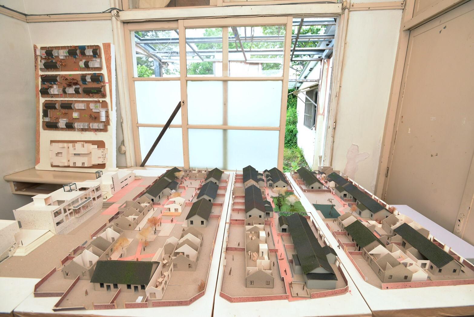 修繕佳安市場和宿舍群,發展「十一份文創園區」