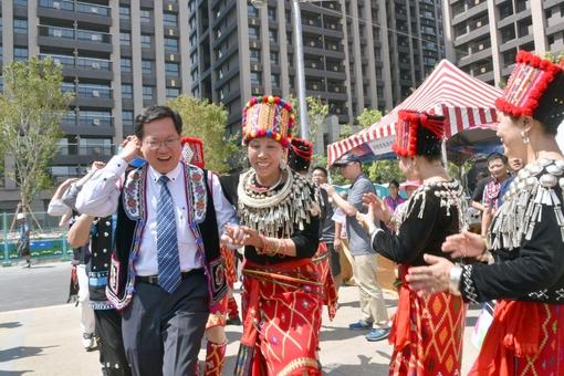 魅力金三角美食文化祭  鄭市長:發展三大計畫,讓「魅力金三角」成為台灣具有「唯一性」的形象商圈【另開新視窗】