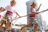 卑南族的孩子也參加這項年祭【另開新視窗】