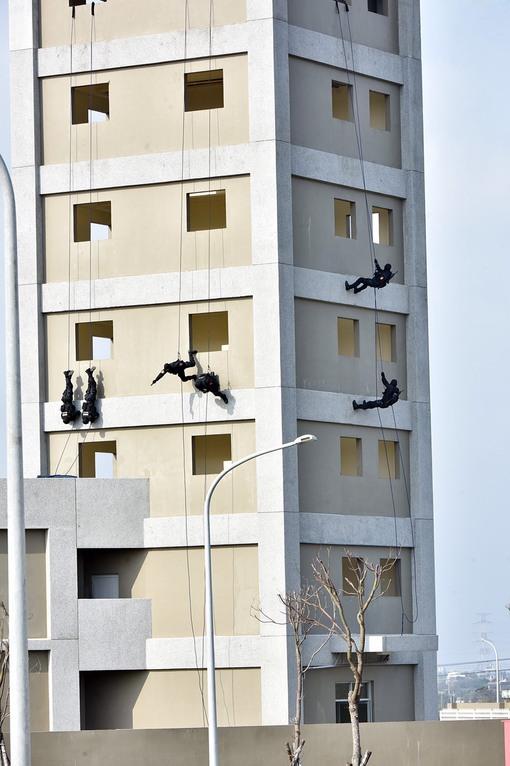 內政部警政署反恐訓練中心落成啟用 鄭市長:強化反恐能量,守護國土安全【另開新視窗】