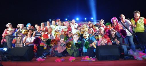 新屋天后宮媽祖文化祭  鄭市長祈求農業博覽會成功、新屋人口增加、各項建設順利完成