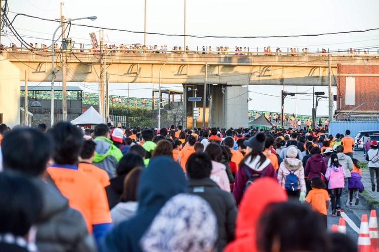 2018蘆竹濱海全國馬拉松 鄭市長:運動帶來健康、自信及歡喜