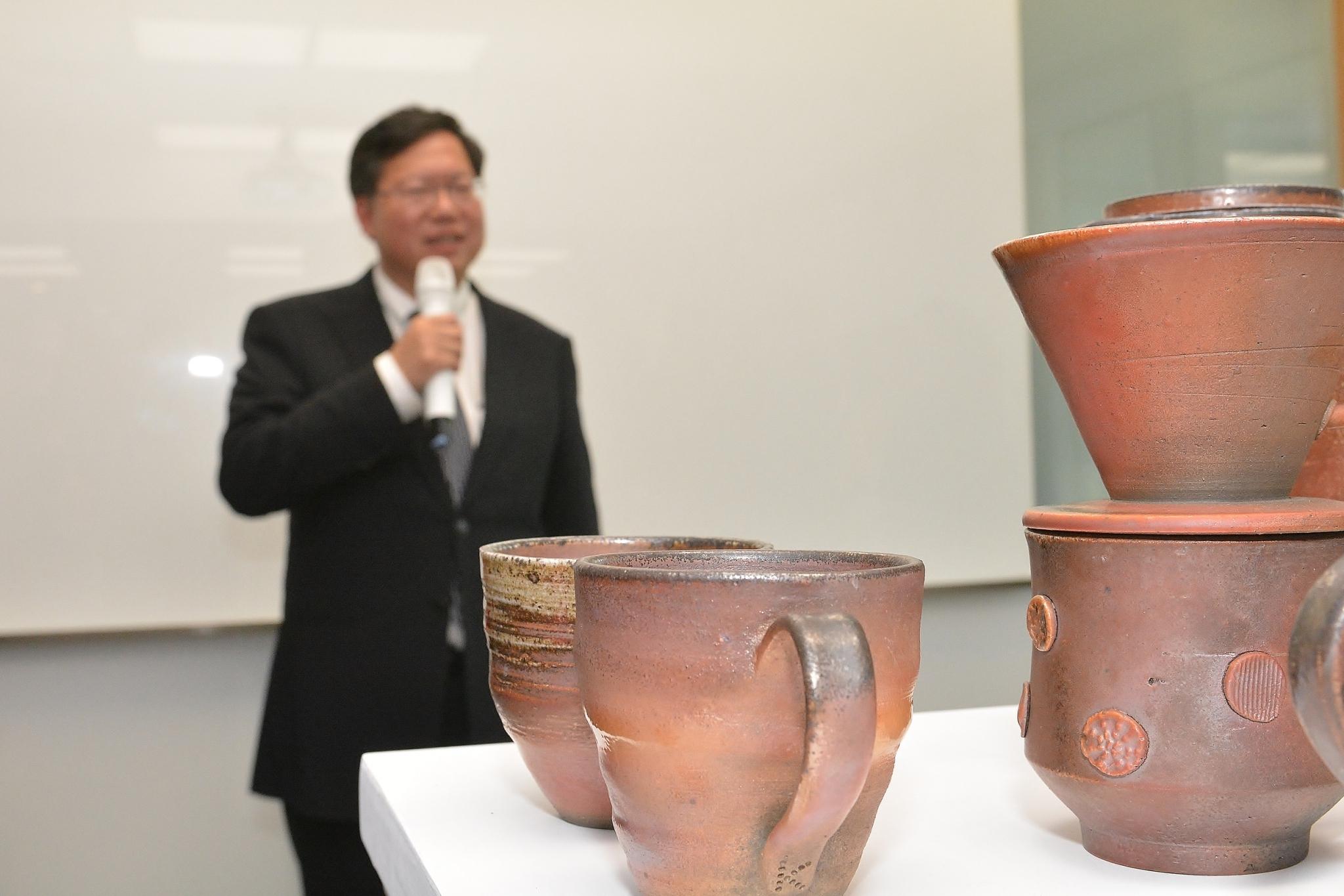 和窯特展—陶藝家聯展 鄭市長:增加更多特展交流,深化城市文化底蘊