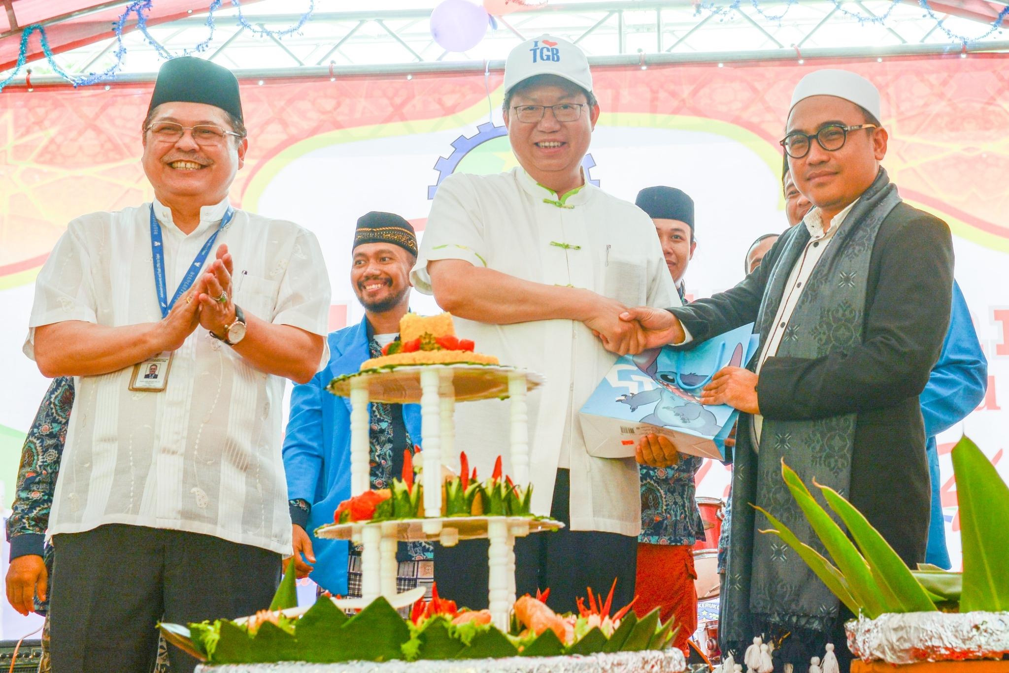 台灣穆斯林聯合會齋戒月祈福活動 鄭市長:支持印尼文化活動,盼桃園印尼關係更加緊密