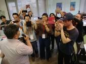 NPO行銷工作坊主任陳俊良成為實作的受訪主角【另開新視窗】