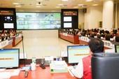 瑪莉亞颱風災害應變中心第二次工作會議 鄭市長:從嚴進行防災整備,讓市民有個平安的颱風夜