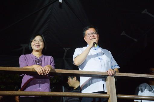 鄭市長致詞,9月14日至30日週末每日2場,歡迎前來欣賞【另開新視窗】