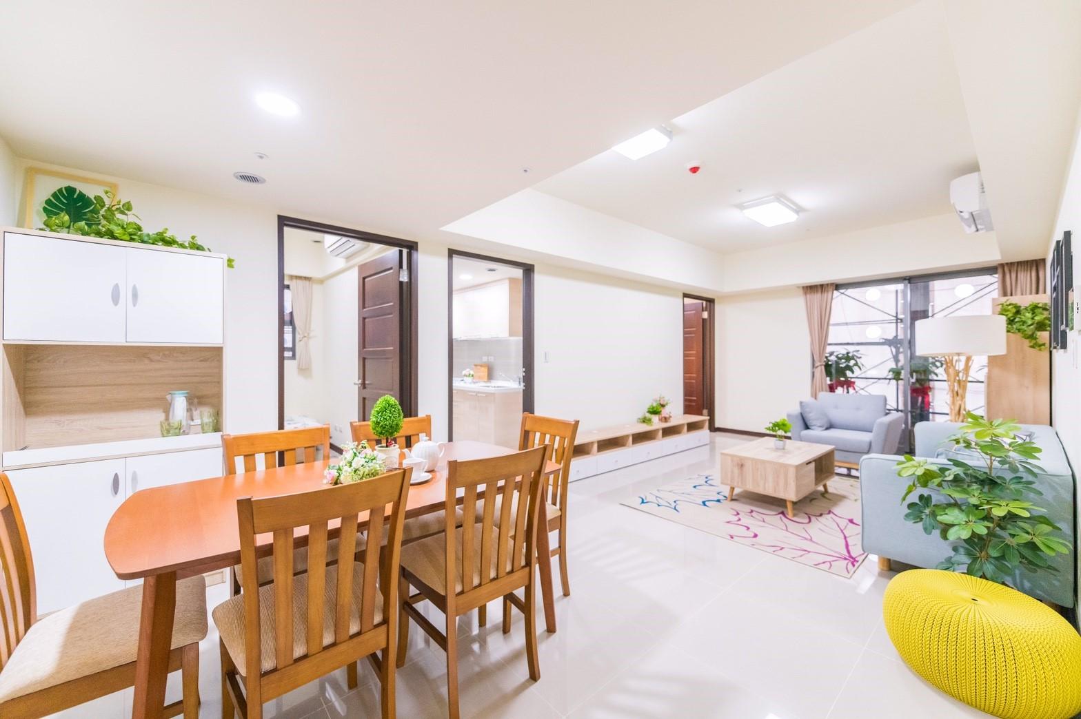 中路二號社會住宅內部空間及家具配置