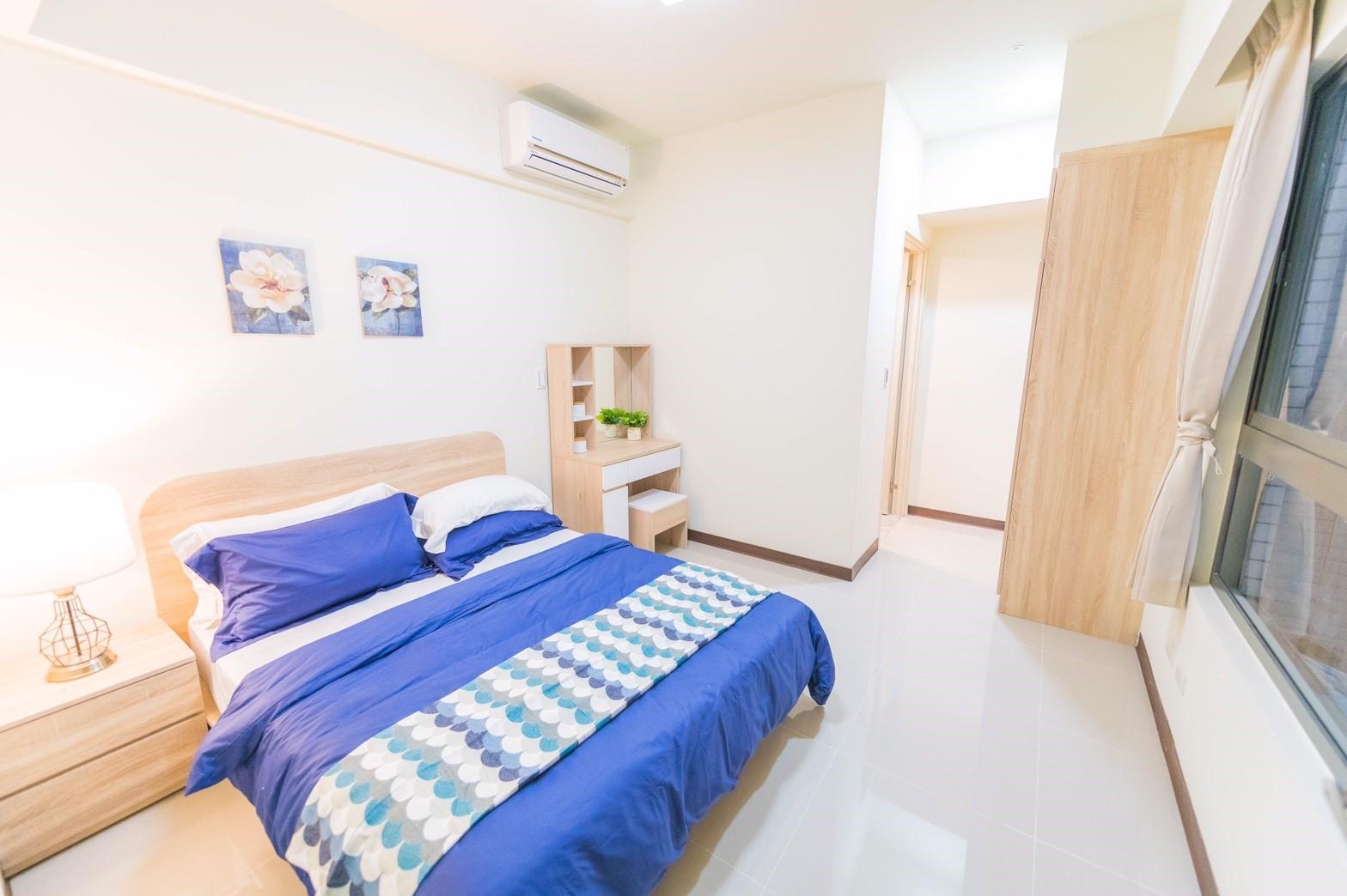 中路二號社會住宅臥室寬敞、舒適