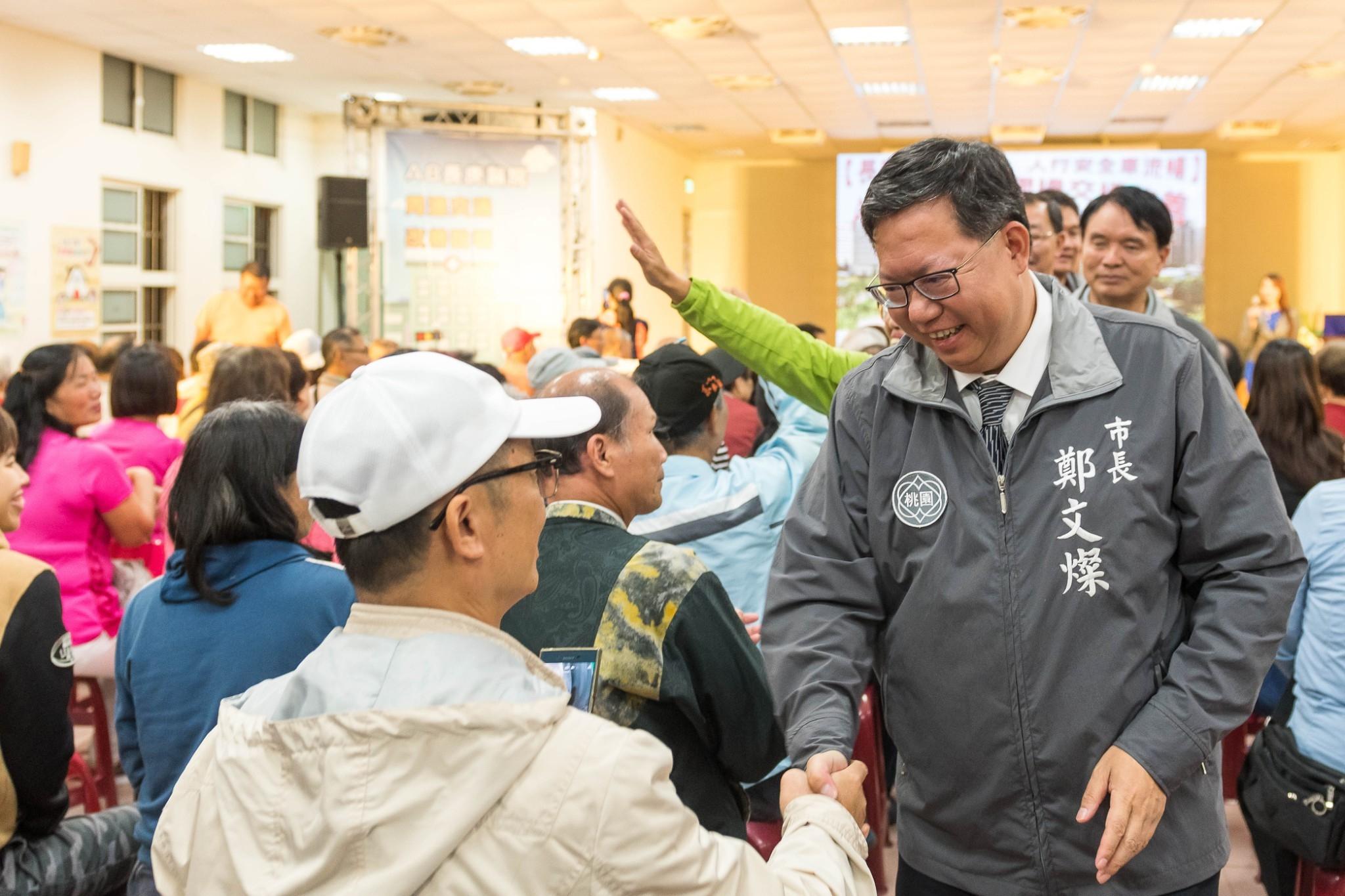 鄭市長與民眾互動