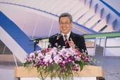 副總統陳建仁致詞表示,未來桃園將具有更快速便捷的捷運交通路網【另開新視窗】