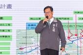 市長致詞表示,桃林鐵路活化預計109年完工,成為市民最喜歡的休閒場所【另開新視窗】