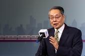 亞洲·矽谷物聯網產業大聯盟榮譽會長施振榮致詞表示,期盼透過政府與產業合作,產生一個開發新核心能力的環境【另開新視窗】