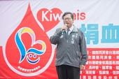 市長致詞表示,捐血是用生命灌溉生命,呼籲市民朋友同舟共濟獻出熱血【另開新視窗】