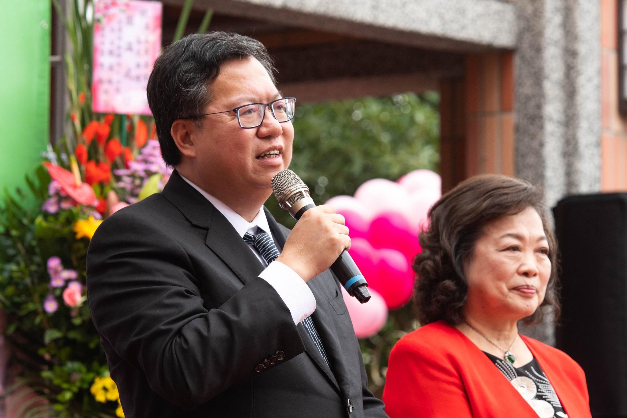 鄭市長表示,集合各界力量,讓社會更溫暖