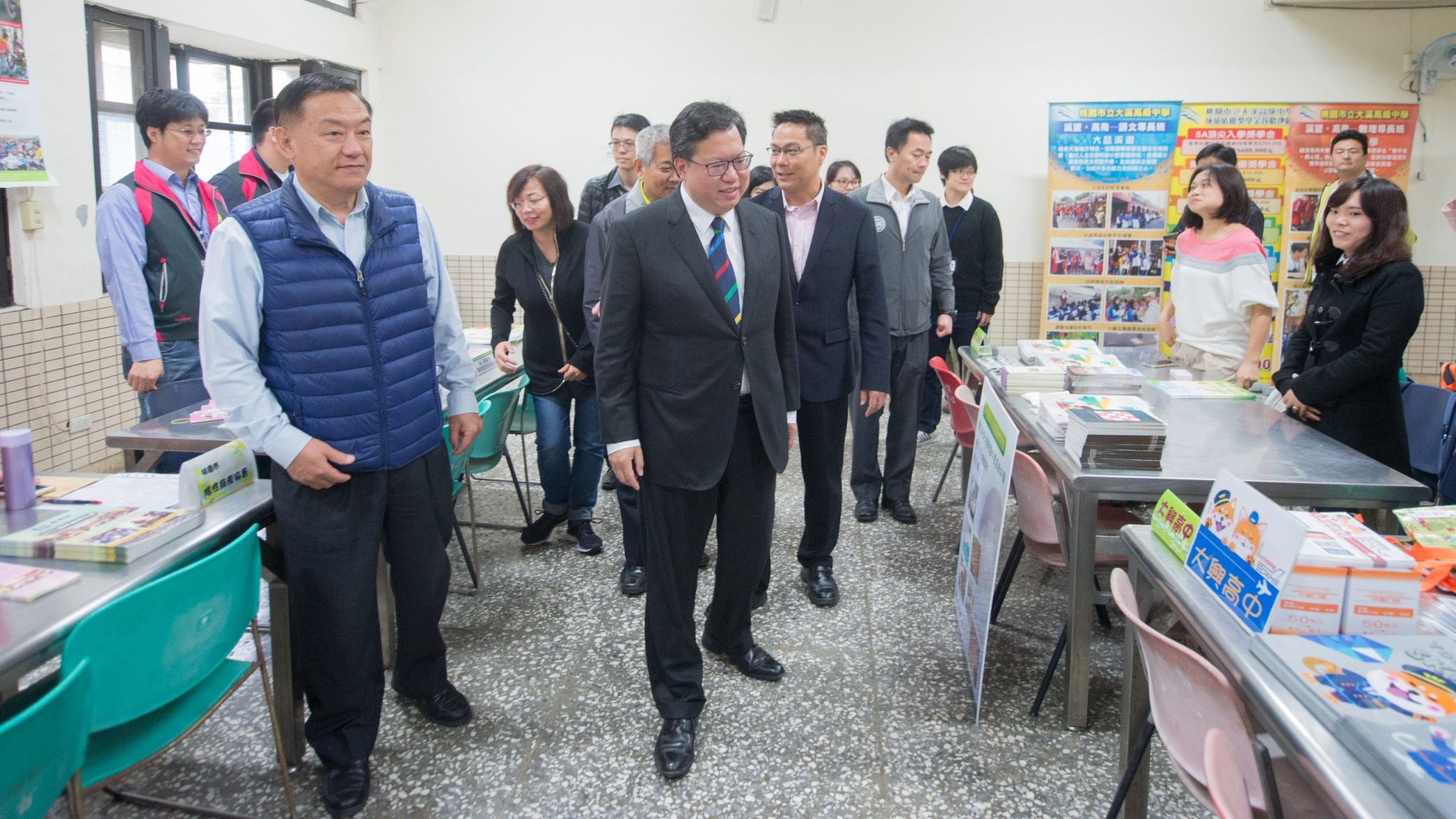 鄭市長參觀博覽會