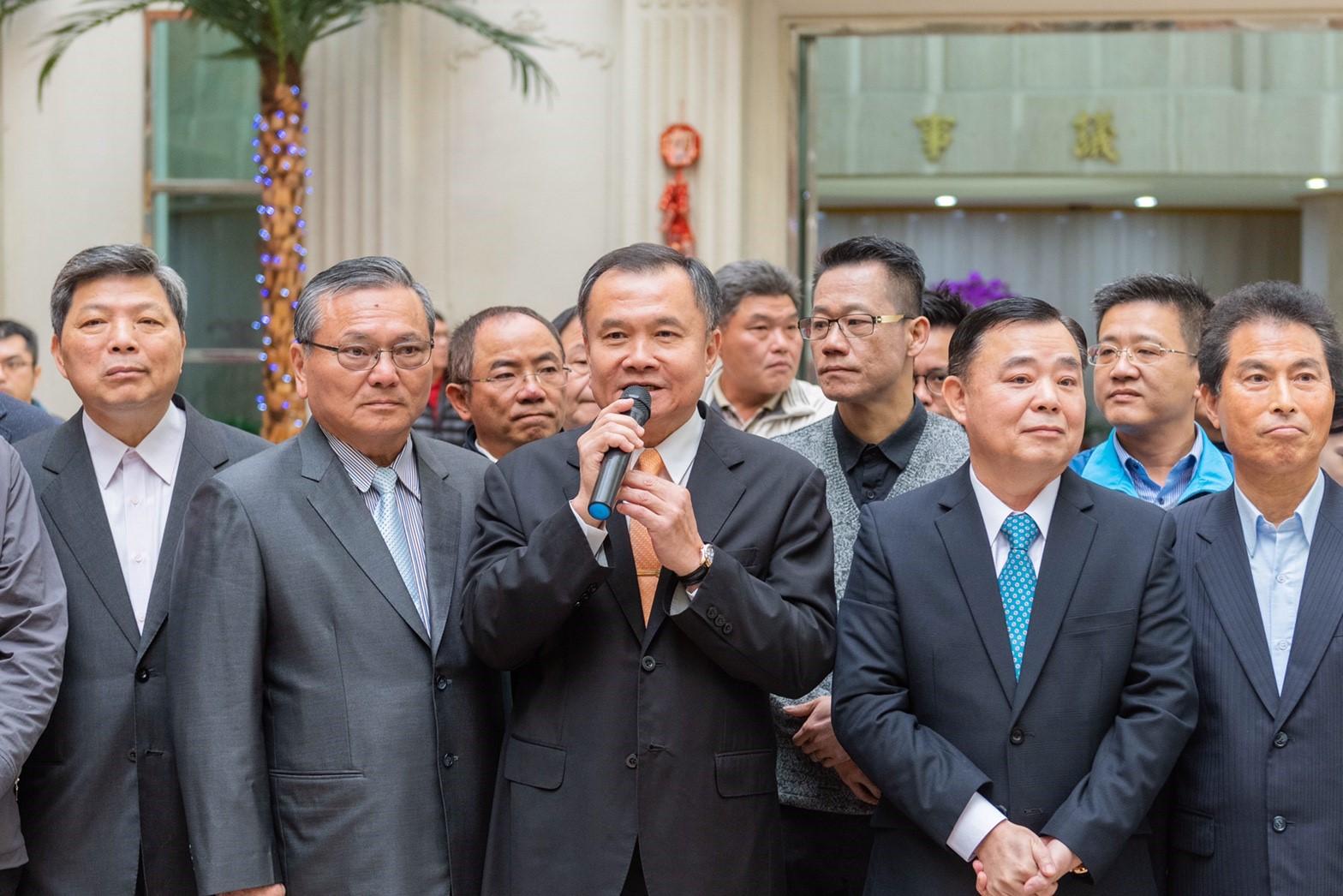 桃園市議會副議長李曉鐘致詞