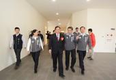 市長視察新坡多功能場館新建統包工程竣工情形【另開新視窗】