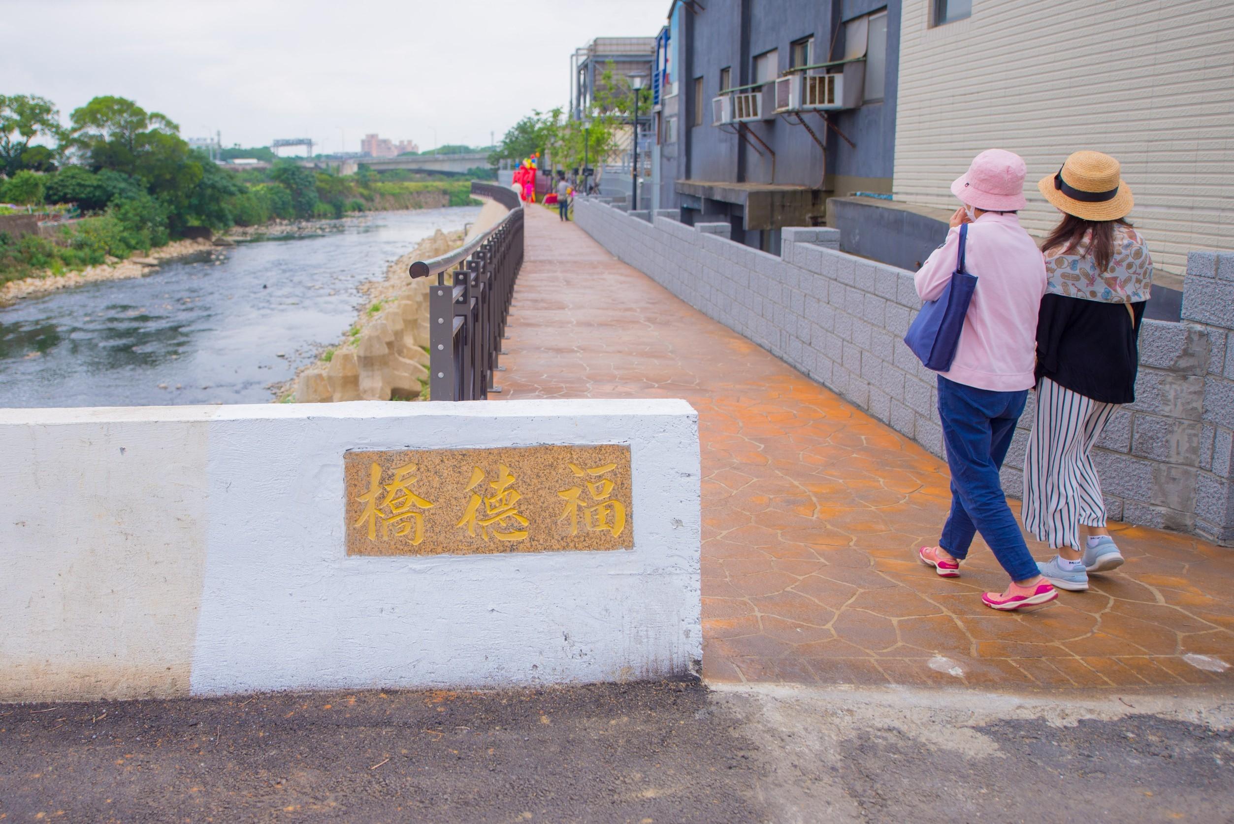 新街溪人行步道新建工程由福德橋延伸至下游水尾橋