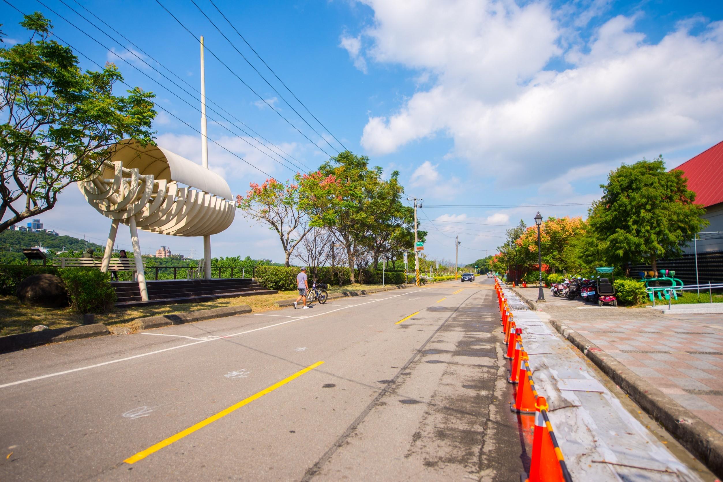 大溪區月眉防汛道路拓寬工程將讓月眉休閒農業區的交通條件大幅提升
