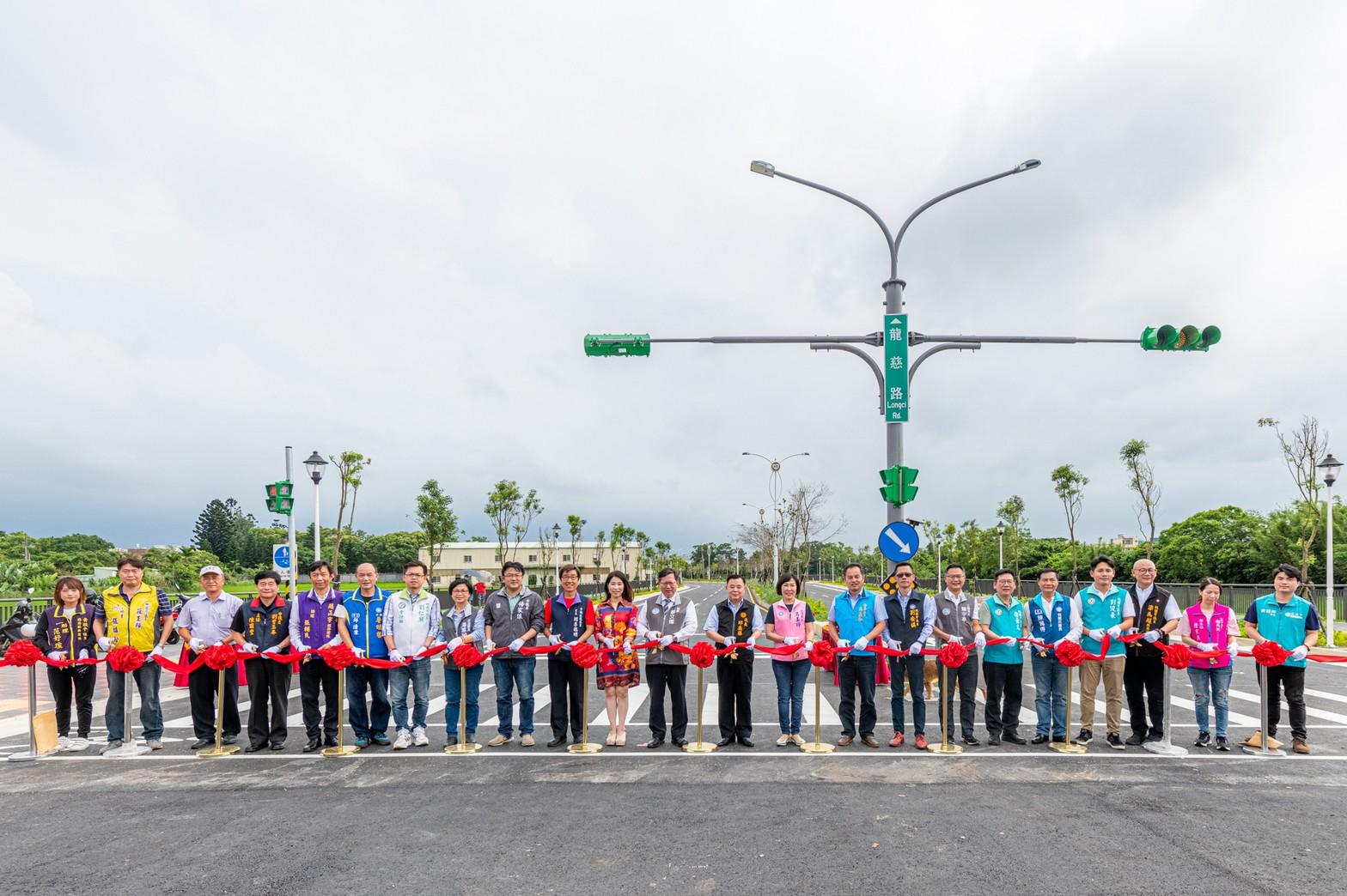 龍慈路延伸至台66線化不可能為可能,讓中壢區整體交通大幅改善