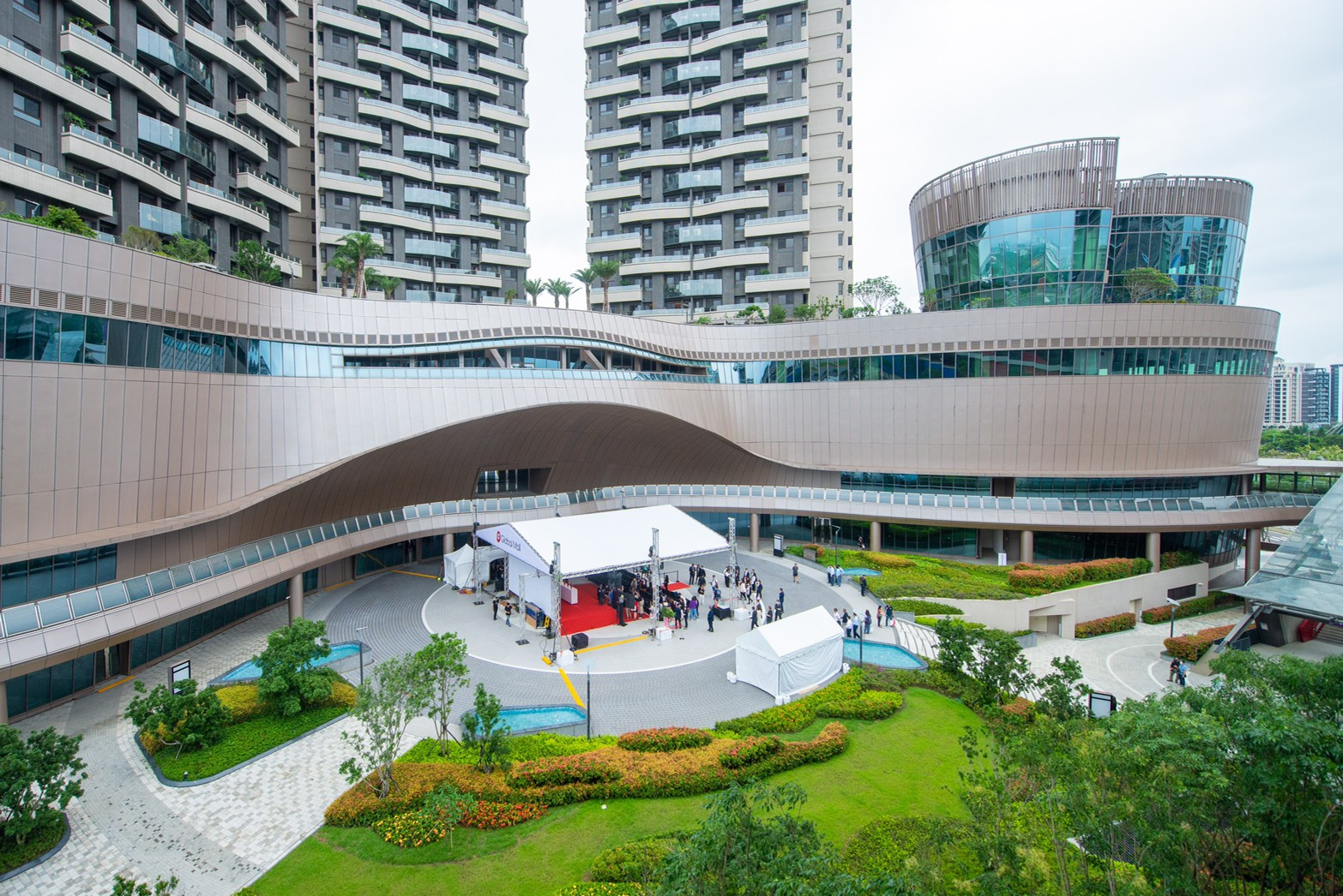 Global Mall桃園A19力拚明年球季前開幕,增進青埔地區生活機能及商業發展