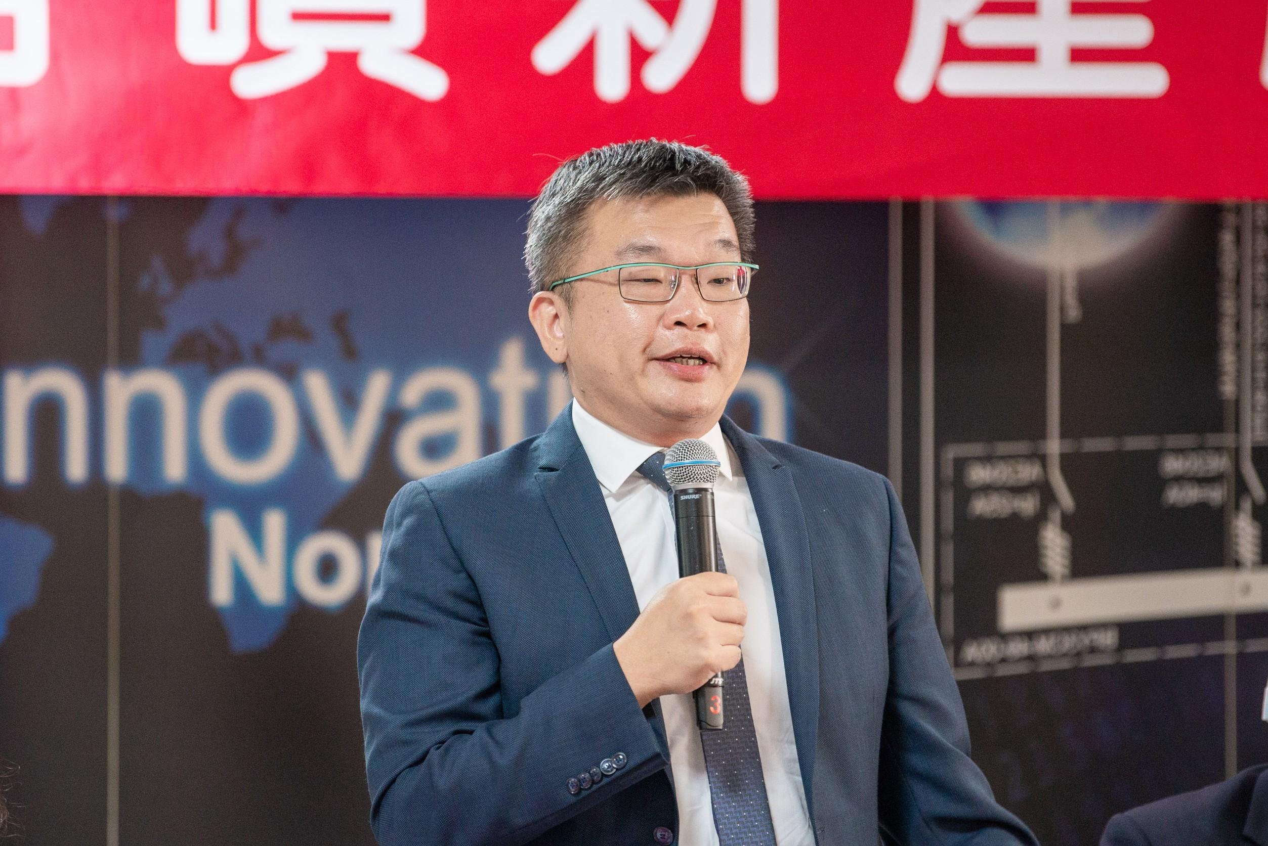 蔡副院長相信未來在經濟部的帶領下,熔噴布產業能進一步拓展到國外市場