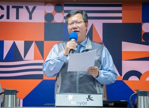 鄭市長表示,桃園市包租代管媒合數量六都第一