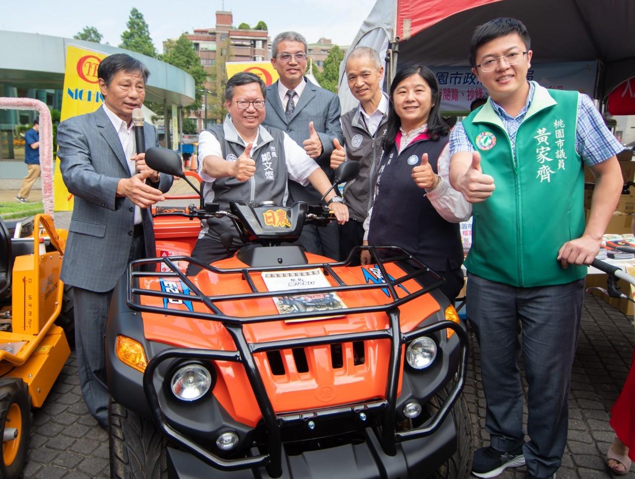 2020桃園市台灣稻米達人冠軍賽誓師,祭出最高200萬獎金讓桃園好米在全國發光