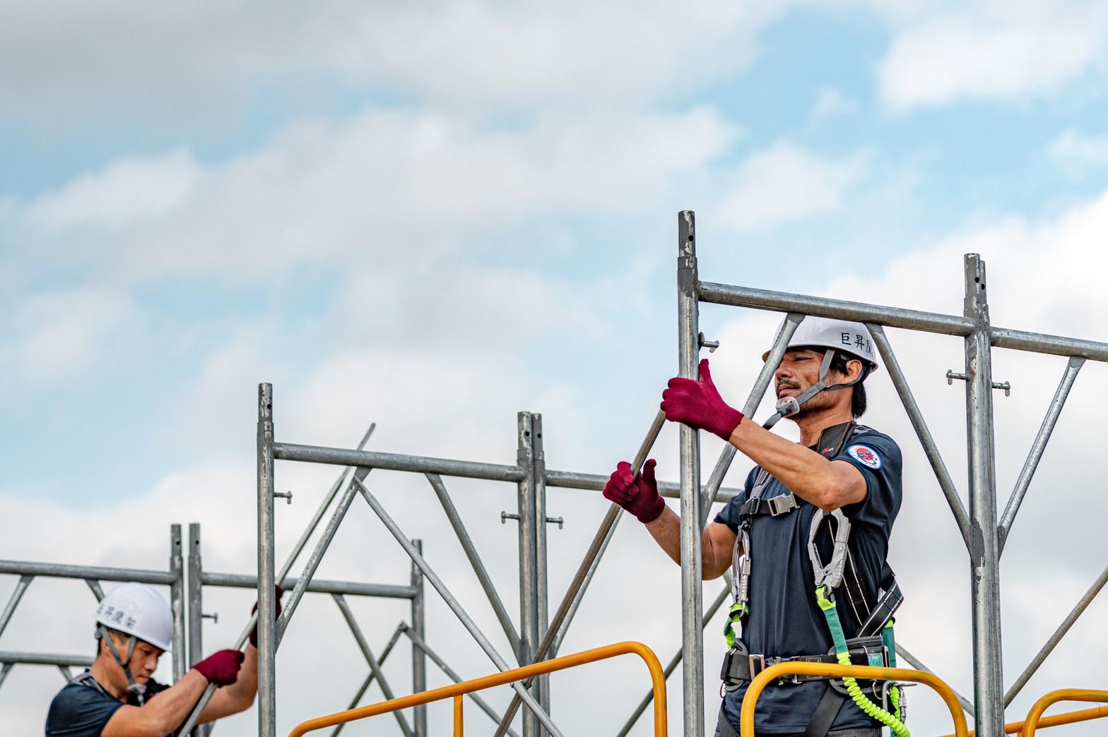 職安文化觀摩會進行高風險作業演練,盼建立以人為本的安全勞動環境